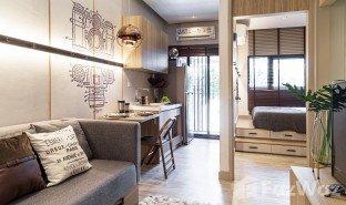 недвижимость, 1 спальня на продажу в Talat Phlu, Бангкок Altitude Unicorn Sathorn - Tha Phra