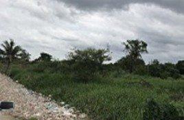 N/A บ้าน ขาย ใน คลองสองต้นนุ่น, กรุงเทพมหานคร ขาย ที่ดิน 4 ไร่ 40 ตร.วา ติดถนน ศรีนครินทร์-ร่มเกล้า