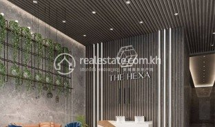 1 Bedroom Apartment for sale in Tuol Sangke, Phnom Penh The Hexa