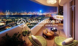 1 Bedroom Apartment for sale in Chrouy Changvar, Phnom Penh La Vista One