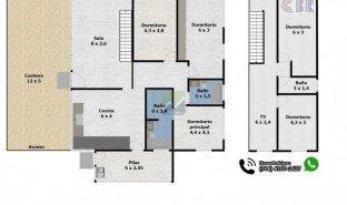 5 Habitaciones Propiedad e Inmueble en venta en , Cartago