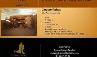 2 Habitaciones Apartamento en venta en , Heredia 50 metros de la UNA