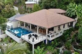 2 Bedrooms House for sale in Maret, Koh Samui Frans & Jaco's Place - 2 Bed Sea View with Private Pool