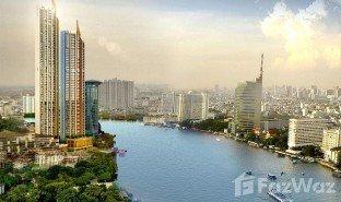 曼谷 Khlong Ton Sai Magnolias Waterfront Residences 1 卧室 房产 售